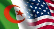 التعاون الجزائري الأمريكي