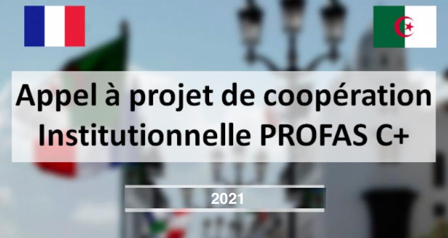 Programme Profas C+ 2021